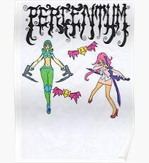 Percentum Designs Fashion Extreme Sports company Poster