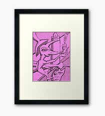myth universe Framed Print