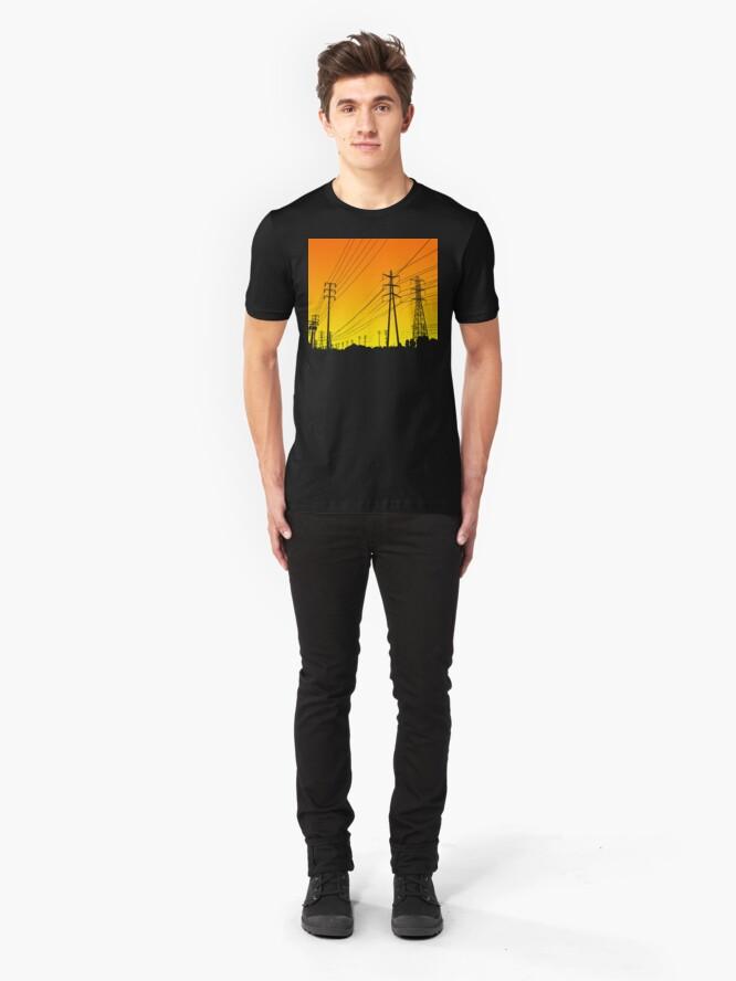 Alternate view of Powerlines Slim Fit T-Shirt