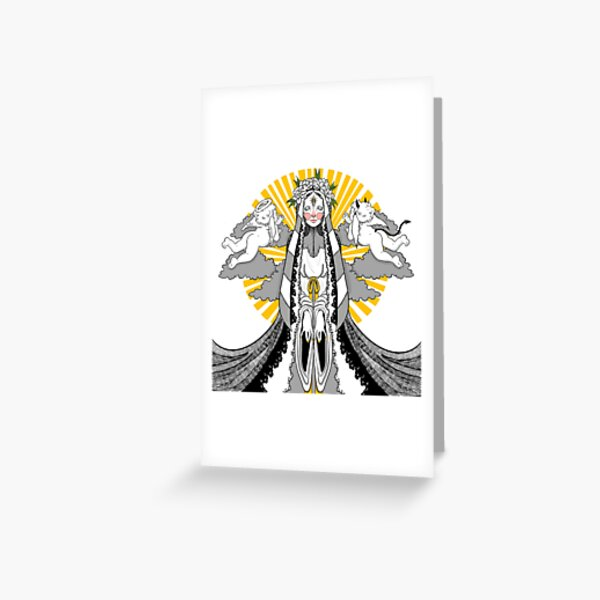 Difference of Opinion Greeting Card