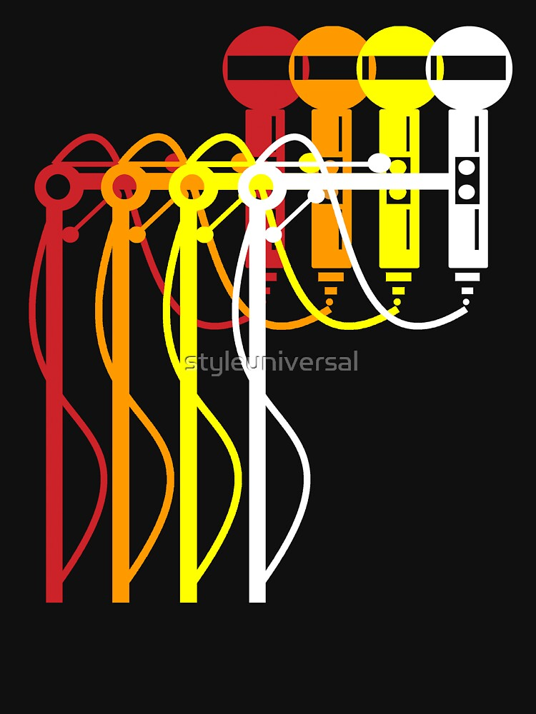 Multi-color mics by styleuniversal