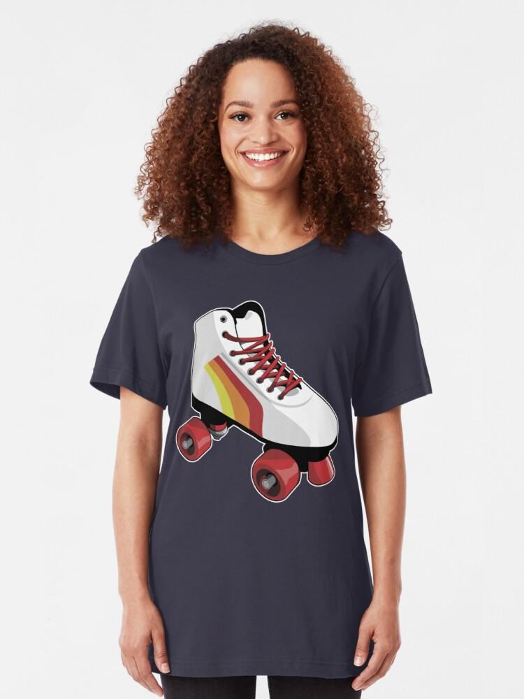 Alternate view of Roller skate Slim Fit T-Shirt