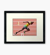 Usain Bolt Framed Print