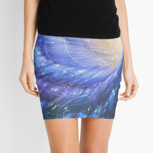 Universe is All of Space and Time and their Contents, including Planets, Stars, Galaxies, and all other Forms of Matter and Energy Mini Skirt