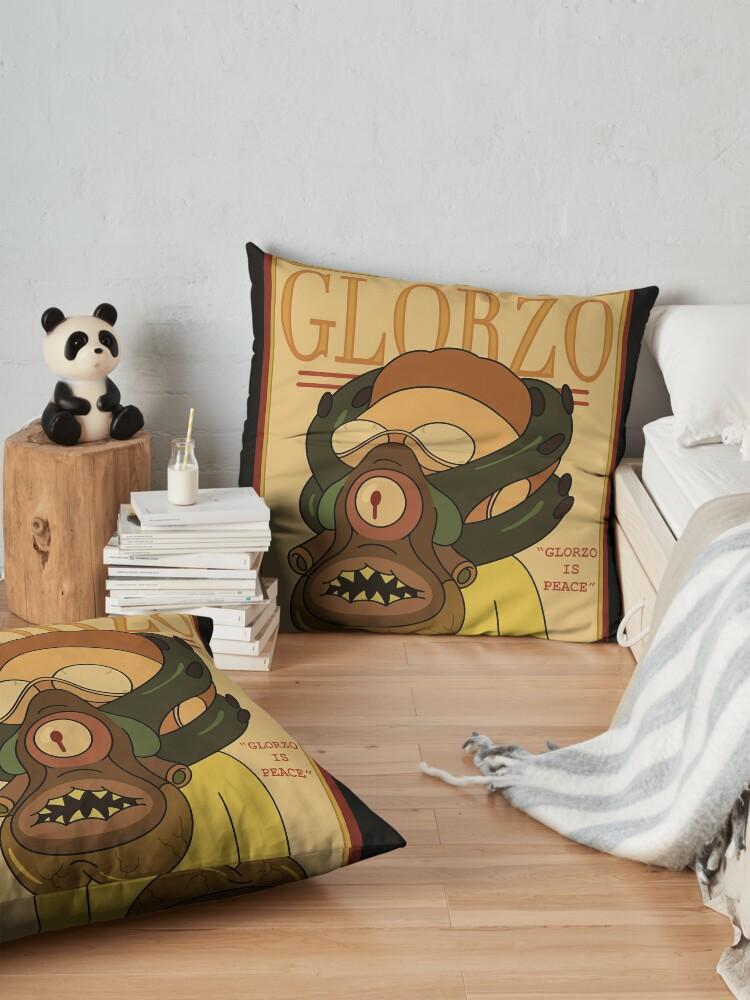 Alternate view of GLORZO Magazine Floor Pillow