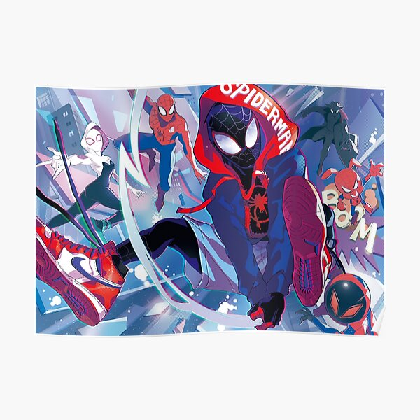 spiderverse spread Poster