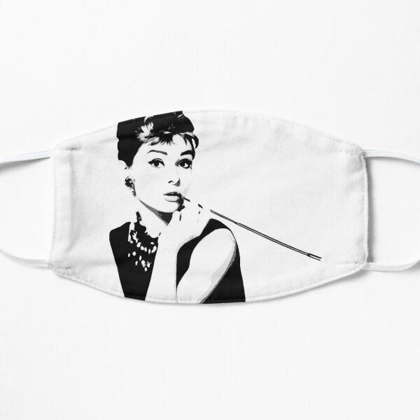 Audrey Hepburn Portrait Art Flat Mask