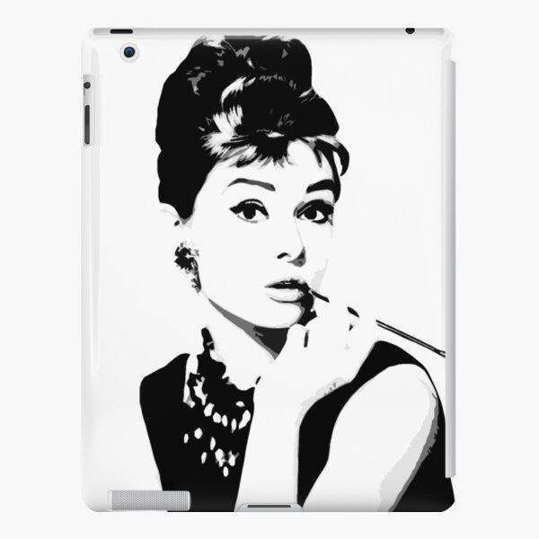 Audrey Hepburn Portrait Art iPad – Leichte Hülle