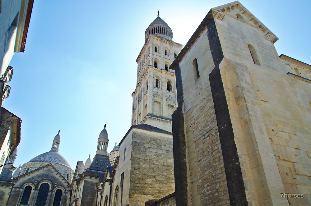Périgueux, Cathedral of St Front, France by 7horses