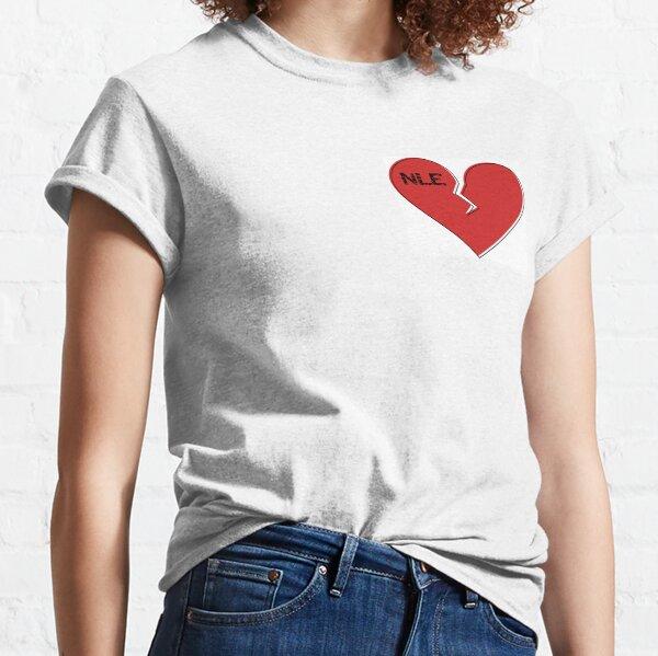 NlE Choppa Broken Heart Classic T-Shirt