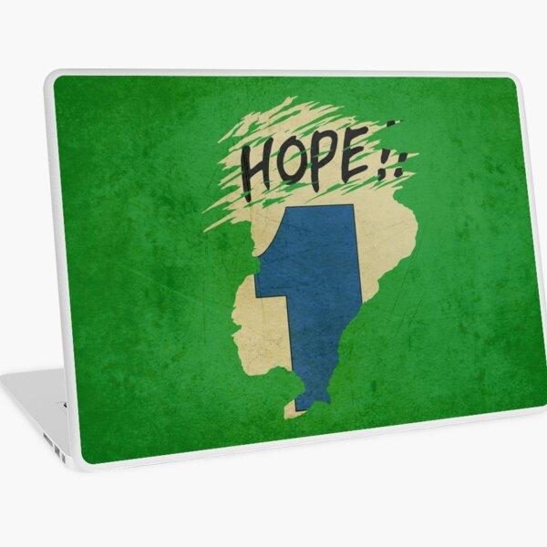 Hope!! (time machine) Laptop Skin