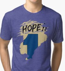 Hope!! (time machine) Tri-blend T-Shirt