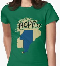 Hope!! (time machine) Women's Fitted T-Shirt