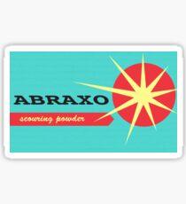 Abraxo Scouring Powder Sticker