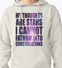 The Fault in our Stars - Stars Quote Pullover Hoodie