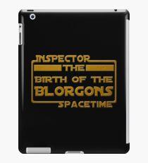 Birth of the Blorgons iPad Case/Skin