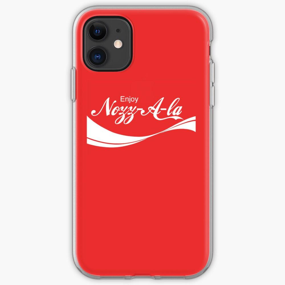 Enjoy Nozz-A-la iPhone Case & Cover