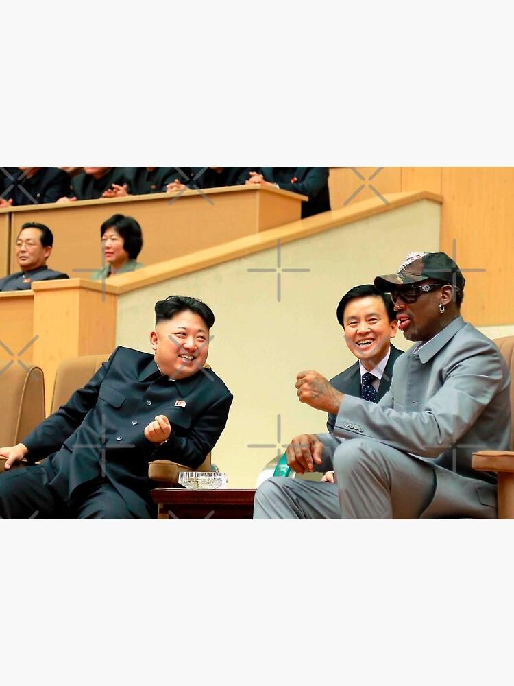 Kim Jong-un . dennis rodman . dennis . rodman . Rodman MJ and  Scottie . Rodman . MJ . Scottie  by MiMISince1996