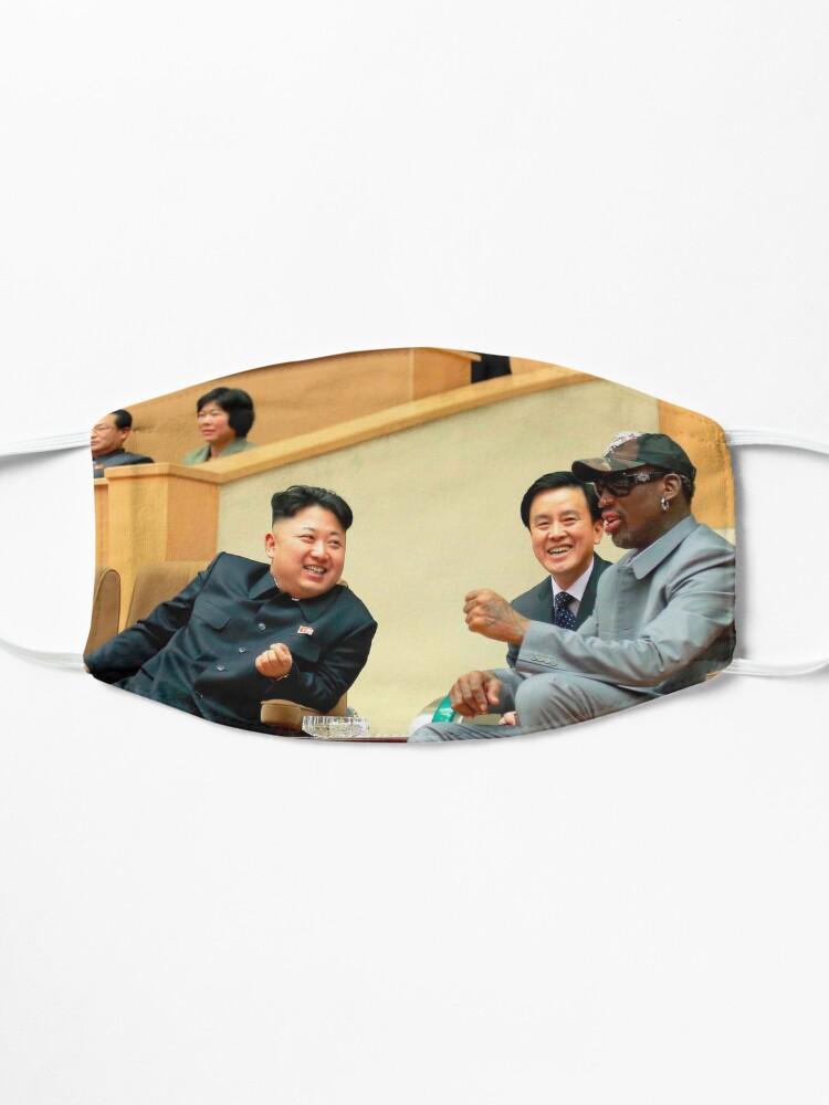 Alternate view of Kim Jong-un . dennis rodman . dennis . rodman . Rodman MJ and  Scottie . Rodman . MJ . Scottie  Mask