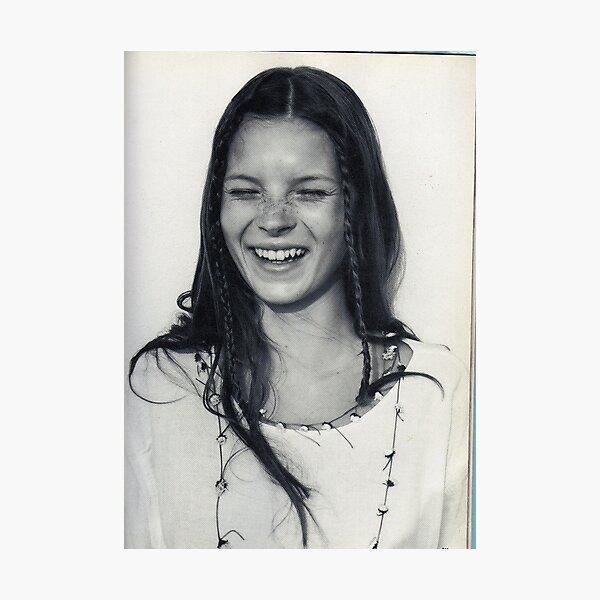 Teen Kate Moss Photographic Print