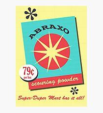 Abraxo Scouring Powder Photographic Print