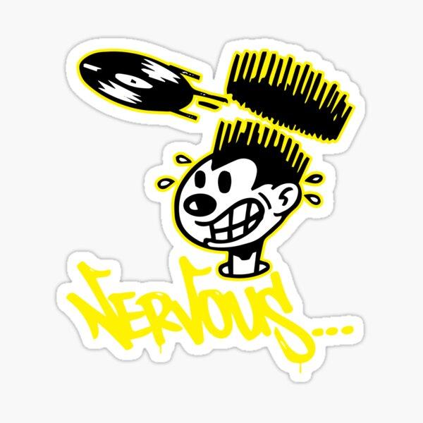 Nervous Records Logo Sticker
