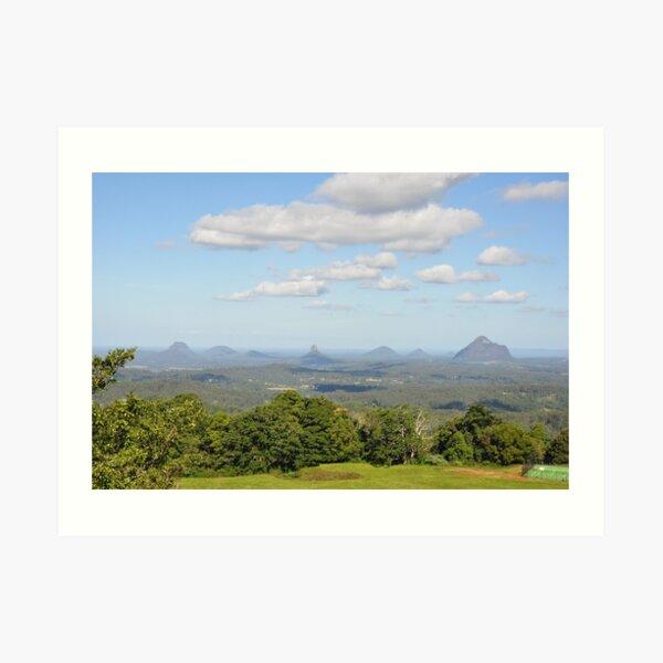 Glass House Mountains Australia Art Print