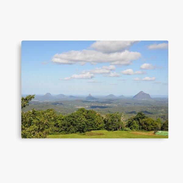 Glass House Mountains Australia Canvas Print