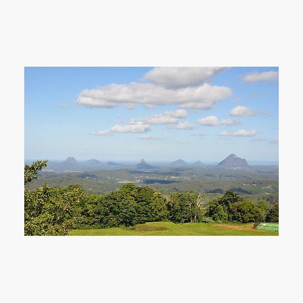 Glass House Mountains Australia Photographic Print