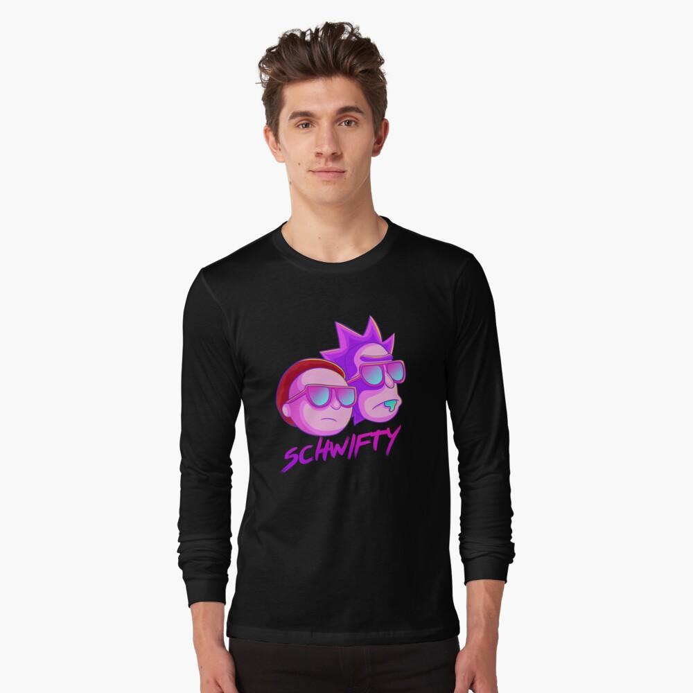 get schwifty Long Sleeve T-Shirt