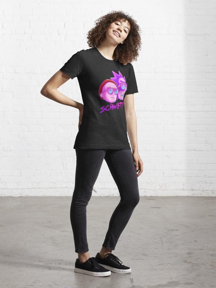 Alternate view of get schwifty Essential T-Shirt