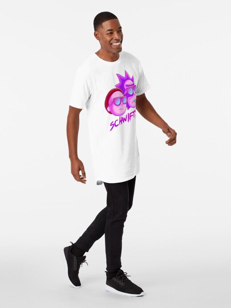 Alternate view of get schwifty Long T-Shirt
