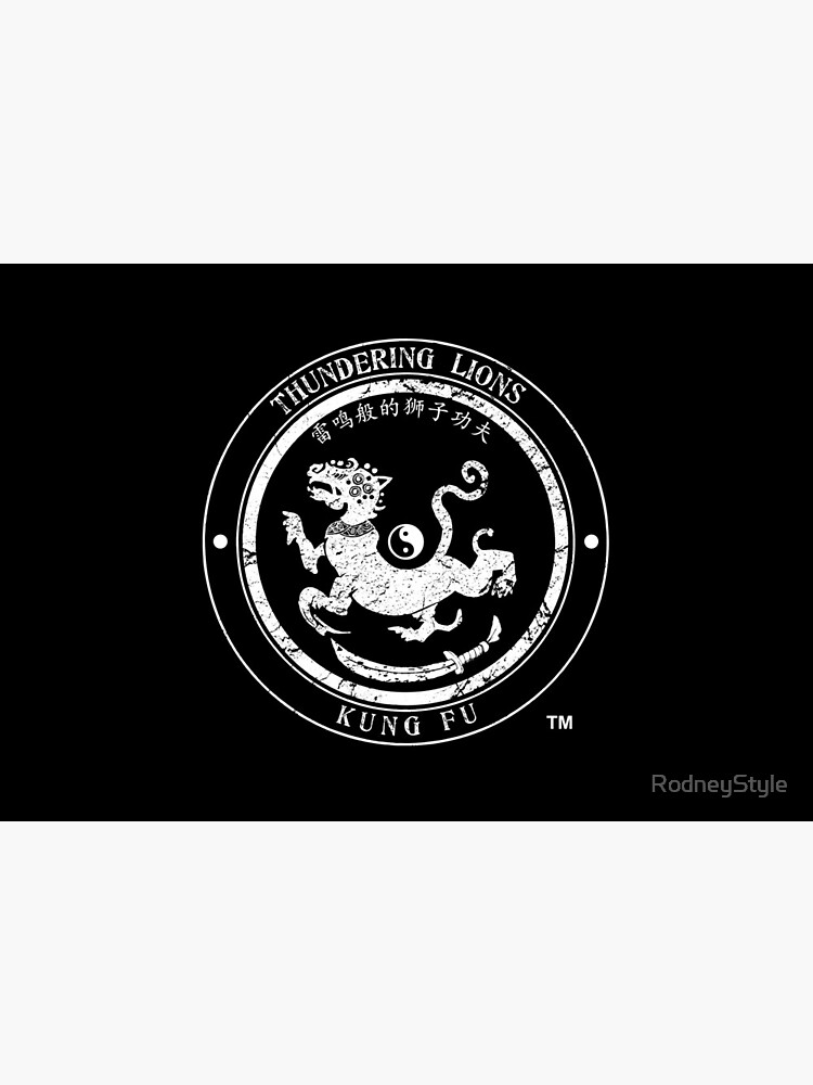 Thundering Lions Kung Fu School Logo by RodneyStyle
