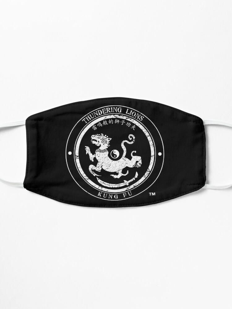 Alternate view of Thundering Lions Kung Fu School Logo Mask