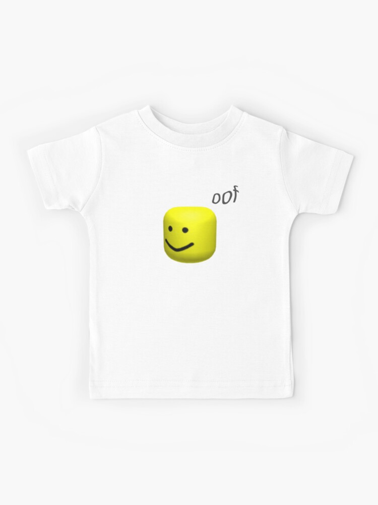 Roblox Oof Images Roblox Oof Kids T Shirt By Noupui Redbubble
