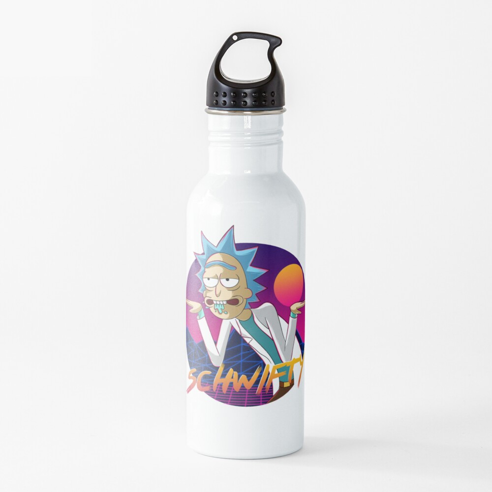 get schwifty Water Bottle