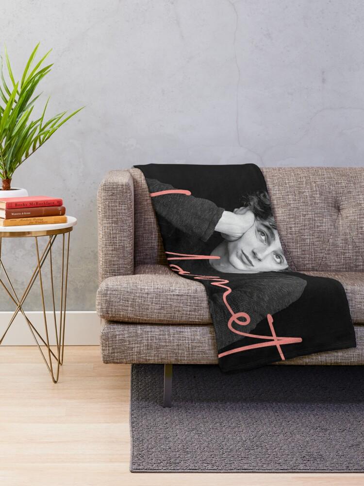 Alternate view of Chalamet, Awesome Merch of Timothee Chalamet Throw Blanket
