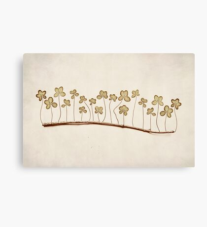 Lucky Stick Canvas Print