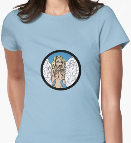 Emily Scott Angel Pinup T-Shirt