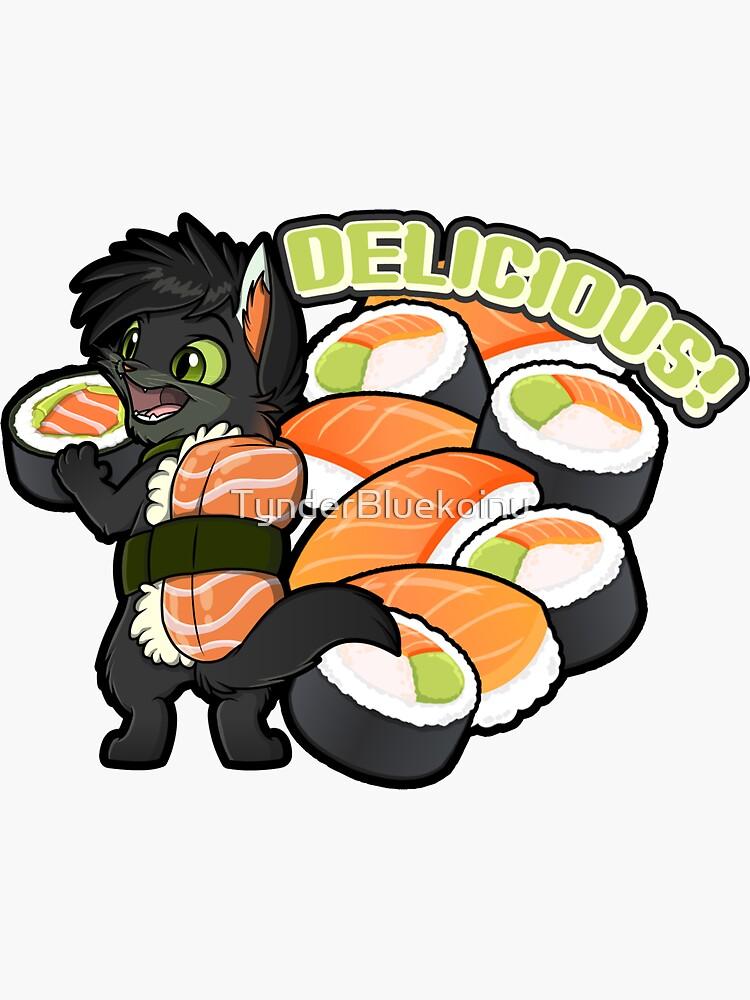 Delicious Sushi! by TynderBluekoinu