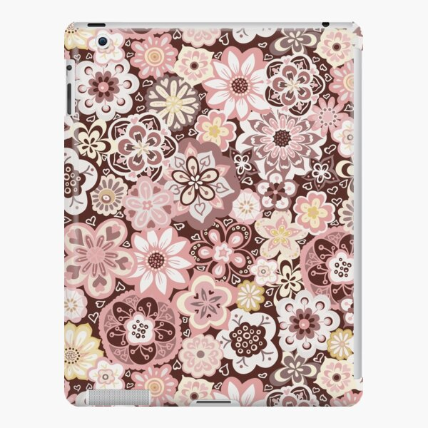 Beautiful Bouquet of Midsummer Blooms in pink, yellow and brown iPad Snap Case
