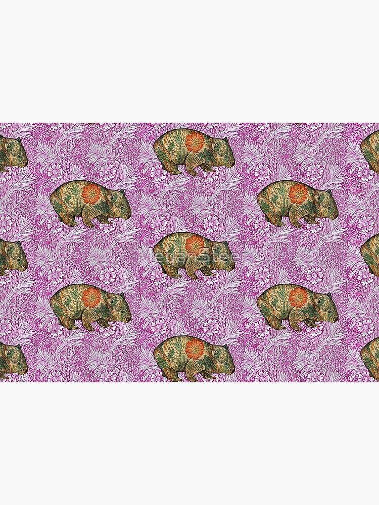 Rossetti's Wombat in Pink Marigold by MeganSteer