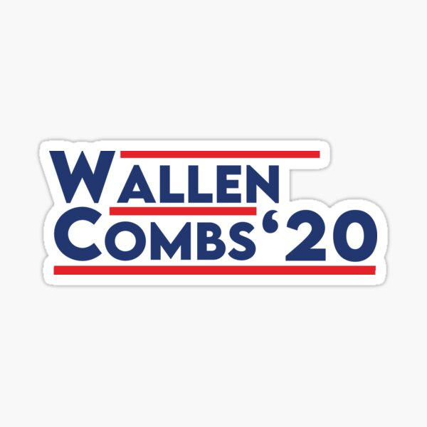 Wallen Combs  Sticker