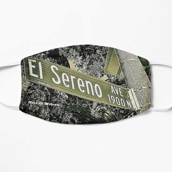 El Sereno Avenue, Pasadena, CA by Mistah Wilson Mask