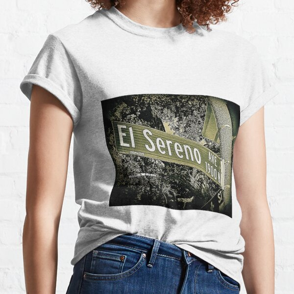 El Sereno Avenue, Pasadena, CA by Mistah Wilson Classic T-Shirt