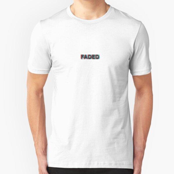 FADED TRIPPY 3-D 3D Slim Fit T-Shirt
