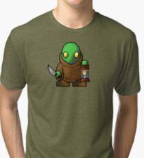 Pixelart Tonberry Tri-blend T-Shirt