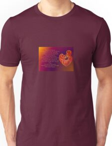Thank You for Being You Poetry Greeting Card T-Shirt