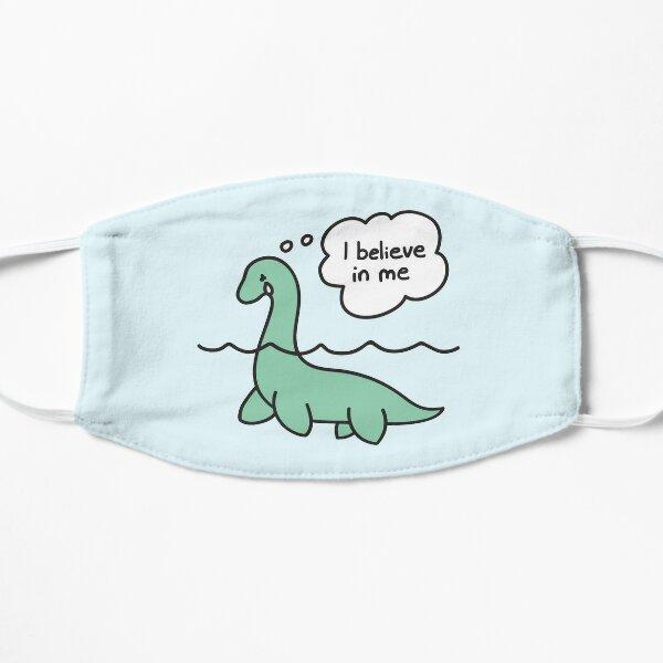 Nessie Believes in Nessie Flat Mask