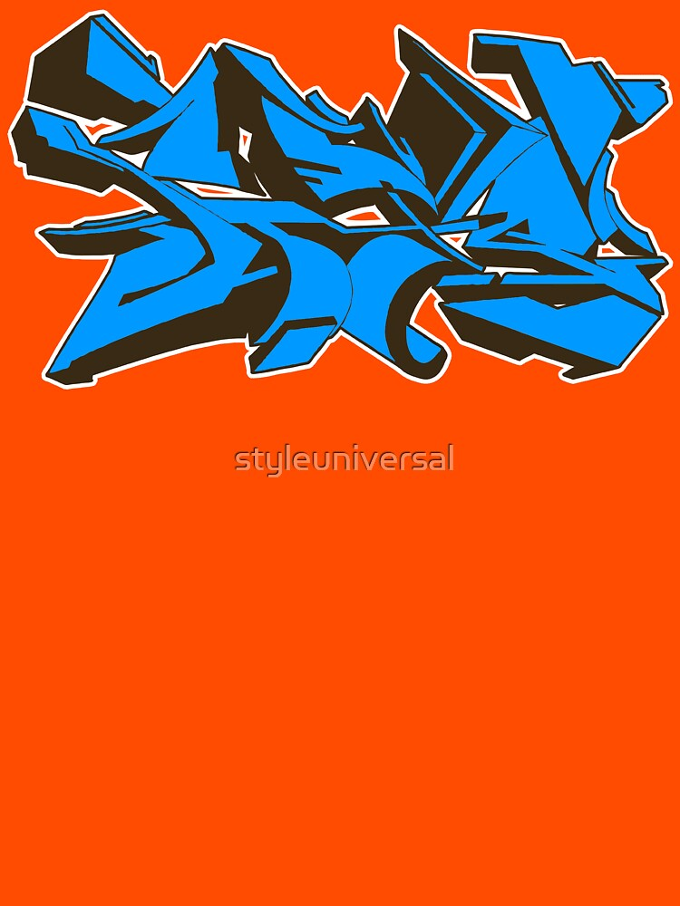 Style graffiti Blue by styleuniversal